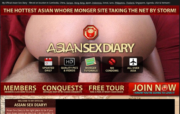 Asiansexdiary Free Trial Promotion