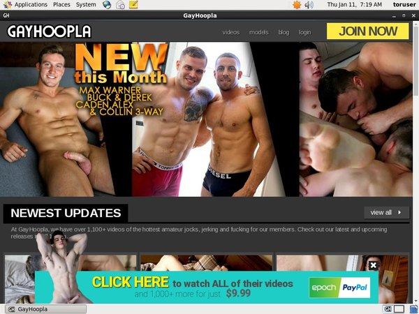 Gay Hoopla Creampie