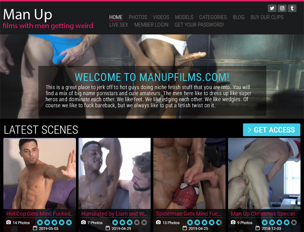 Man Up Films Purchase