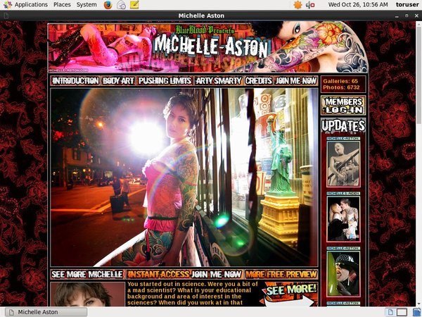Michelle Aston Sign Up