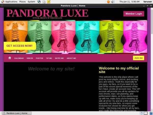 PandoraLuxe Sample
