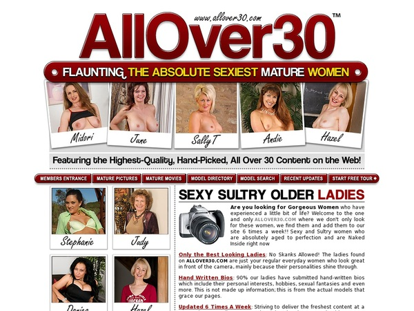 Try Allover30.com Free