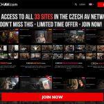 Czechav.com Promo Discount