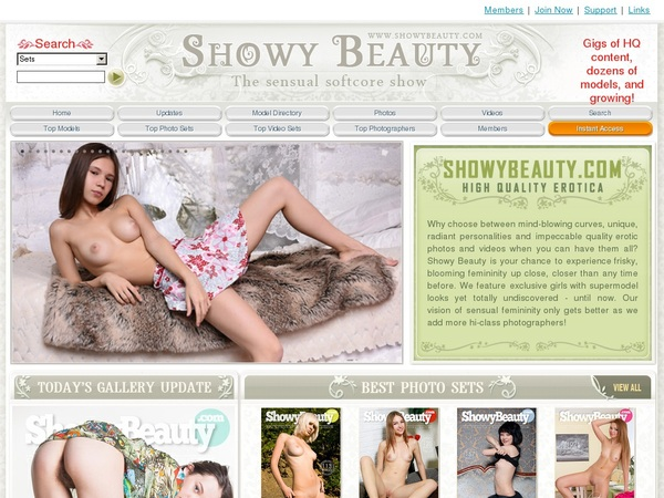 Beauty Showy Sign Up