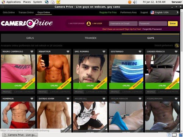 Account Camera Prive Gay Gratis
