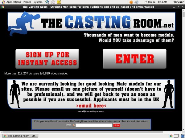 The Casting Room Discount Access