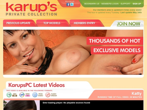 Free Password Karups Private Collection
