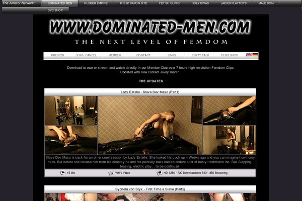 Dominatet Men Paypal Option