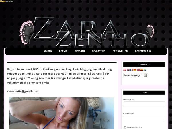 Zara Zentio Purchase