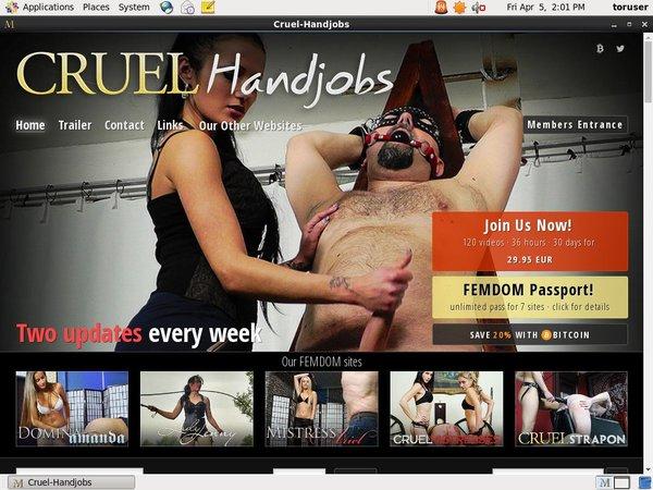 Cruel Handjobs Trail Membership