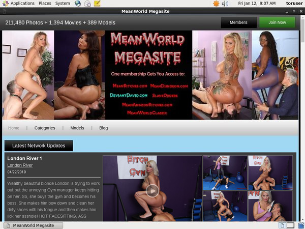 Meanworld.com Password And Account