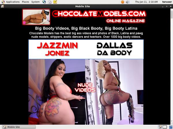 Chocolate Models Buy Trial