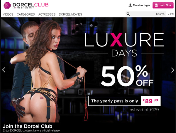 Dorcel Club With Iphone