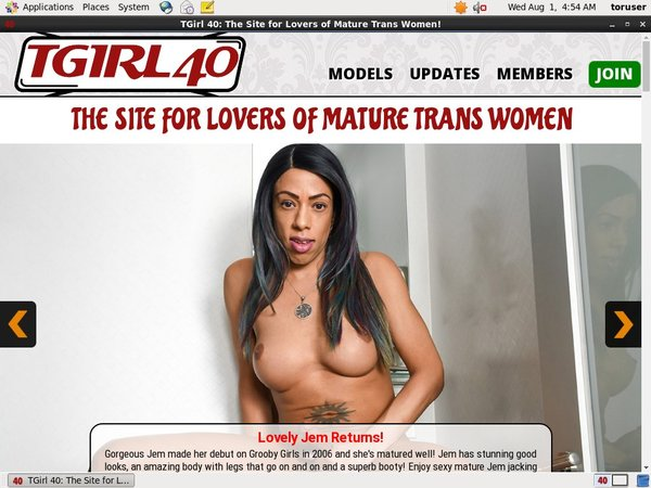 TGirl 40 With Master Card