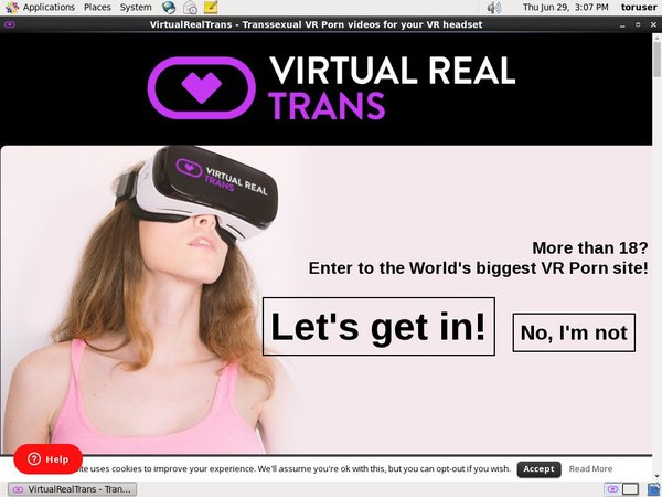 Virtual Real Trans Discount Monthly
