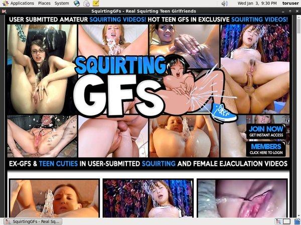 Porn Squirting GFs
